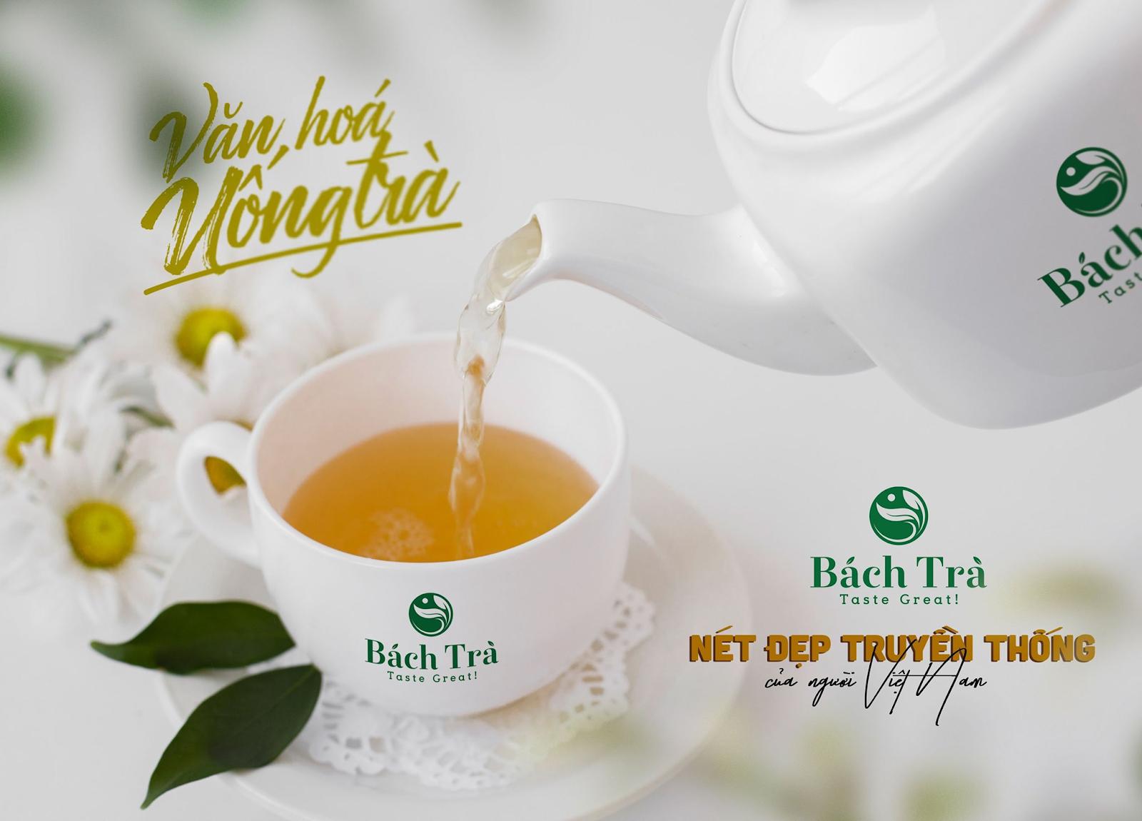 (Uống trà là nét văn hóa lâu đời của người Việt Nam)