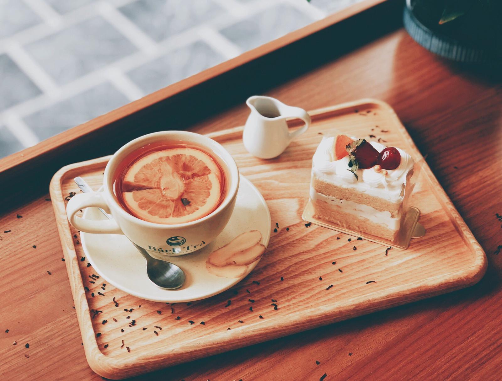 (Hồng trà cam gừng rất được ưa chuộng vào mùa đông)